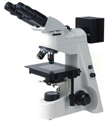 UPRIGHT METALLURGICAL MICROSCOPE