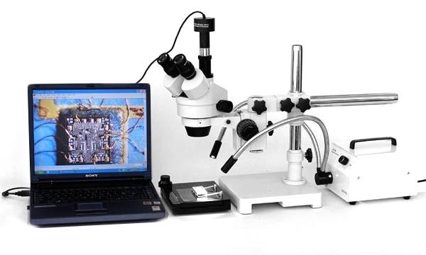 microscope with camera